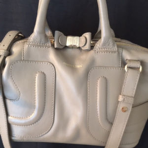 See by Chloe taupe cross body